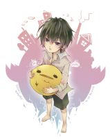little hibari with hibird by cintychikooo