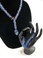 Shaggy Loops Necklace Bracelet by DeviantChainMaille