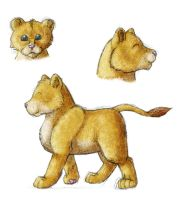 Lion Cubs by BookThief17