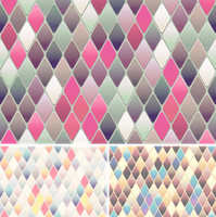 Diamond-Shaped Tiles Bg 2nd Set by Viscious-Speed