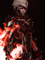 Metal Gear Rising Revengeance Jack The Ripper by CalengilFirdar