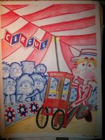 Popcorn and Circus. by MannyG86