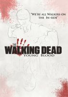THE WALKING DEAD Young Blood  Film Poster by indy7738