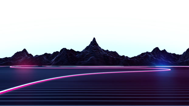 Highway 16x9 Transparent Background (With Aura) by AxiomDesign