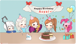 HBD - Surprise!! by Cremebunny