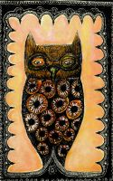 owl statuette by nico37
