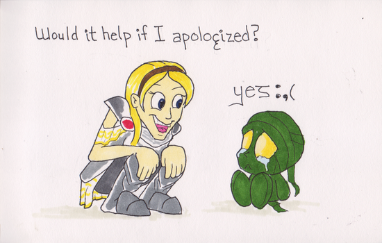 Lux Apology by EmoHoodieDude