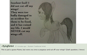 Ask Plume answer #17 by nemo-kenway