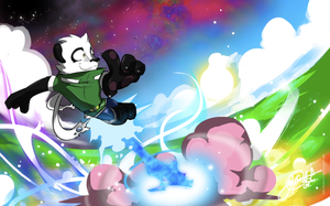 Tairu Blasting Off by super-tuler