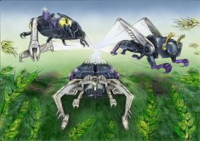 Insecticons by Hemachatus