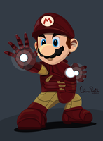 Iron Mario by drifith