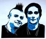 A7X - Syn and Johnny 3 by weedenstein