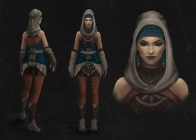 Girl Concept 1 by Arsinoes