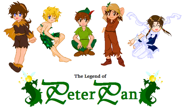The Legend of Peter Pan by Musapan
