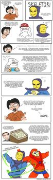 Skeletor's Marriage Equality Dance Off by diceknight