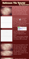 Bathroom Tile Tutorial by RuuRuu-Chan