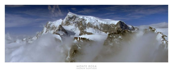 Monte Rosa by mortimea