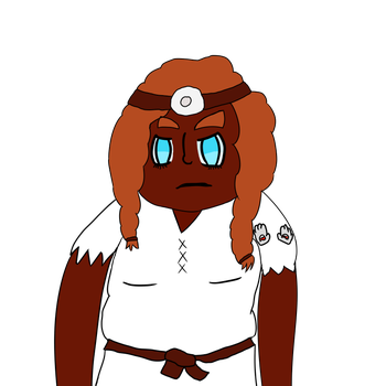 Momuz The Chief Medical Dwarf by Wallespider