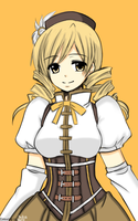 Tomoe Mami Re-Color by VanyRin-Chii076