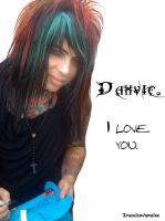 Dahvie I love You by IntoxicaVampire