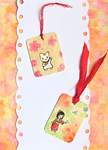 Cute Wooden Bookmarks by Mellymiew