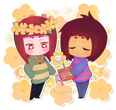 Flower Children [UT Spoilers] by RayFloret