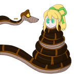 Kaa and Roll Re-Color by kaafan33
