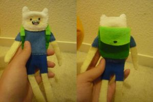 Finn the Human Doll by kkannamika