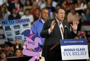 Job Well Done, Mister Huckabee by RicRobinCagnaan