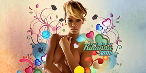rihanna-vector by odin-gfx