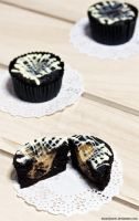 Black Bottom Cupcakes 2 by munchinees