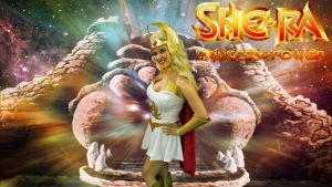 She-Ra cosplay wp starring Danny Cozplay by SWFan1977