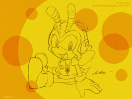 SW: July 2011 - Charmy by Metal-CosxArt