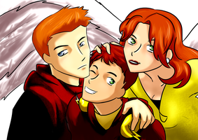 Justice League: Best ginger siblings by BIazeRod