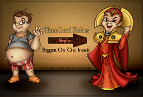 Time Lord Robes: Bigger On The Inside by Theta-Xi