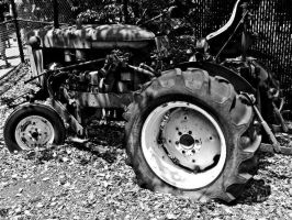 Old Tractor 1 by JeremyC-Photography
