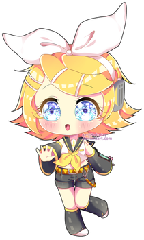 Rin Kagamine by Sol-play