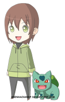 Anna and Bulbasaur ID by aninhachanhp