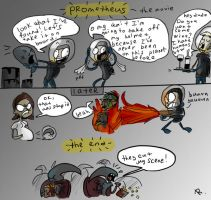 Prometheus, the movie by Ayej