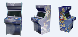 Otaku Senshi Arcade Cabinet by Blue-and-Dog