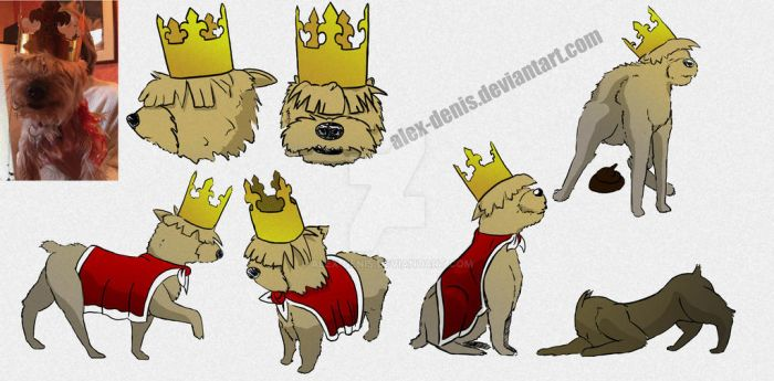 The king by Alex-DENIS