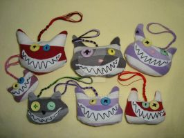 Cheshire Cats Plushies by MalkBass