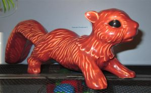 Red squirrel guardian by MaguschildCloud