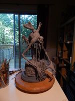 The Thing In The Well WIP 1 by Blairsculpture