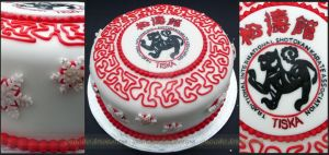 Karate Party Cake by ginas-cakes