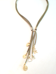 Free Shipping Idit Stern Olive Splash Necklace by iditstern