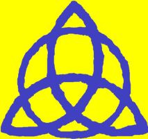 Triquetra In Blue by Mommy-of-Ein