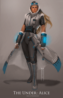 Alice the Fighter Pilot by Moesie