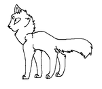 Cat Line Art 3 by LordMuffinX3