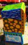 Box Painting - Right Side by golddew